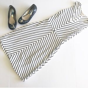 Banana Republic striped casual dress